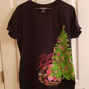 Womens Merry Christmas Top
